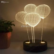 2018 wholesale free shiping balloon 3d l lighting table ls