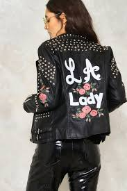 jacket moto bud out vegan leather moto jacket shop clothes at nasty gal
