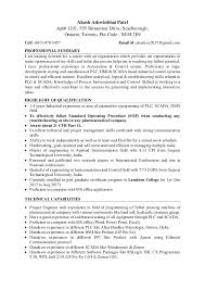 Technical Capabilities Resume Resume