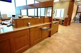 hometrust bank asheville office remodel financial fixtures