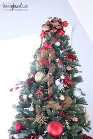 decorating a 12 ft tree big bows tree toppers and