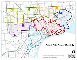 Austin City Council District Map by The Corner Side Yard August 2013