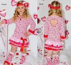 valentines dress pink heart valentines dress