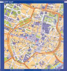 Map Of Munich Germany by Munich Center Full Size