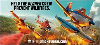 disney u0027s planes fire u0026 rescue join smokey bear wildfire