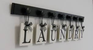 Metal Letters Home Decor by Laundry Room Sign Wall Decor Personalized Hanging Letters