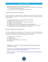 prospects cover letter 9909