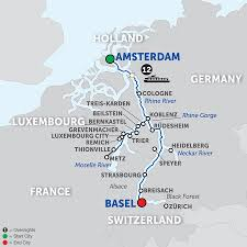 Black Forest Germany Map Avalon Artistry Ii Cruise Ship River Ship