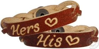 his and hers engraved bracelets his hers braided bracelets personalized leather bracelets