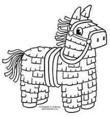 pinata free coloring pages art coloring pages