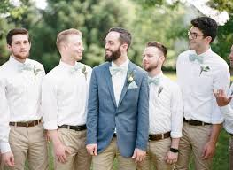 casual wedding casual groomsmen archives southern weddings