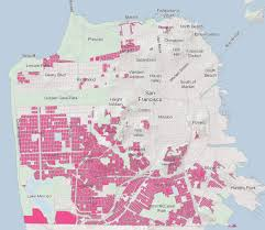 Chinatown San Francisco Map by Housing Solution Backyard Cottages Could Add One Third More Homes