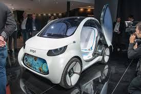 foto smart vision eq fortwo il car sharing del domani