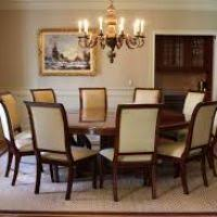 Round Formal Dining Room Tables Dining Room Set For 10 Insurserviceonline Com