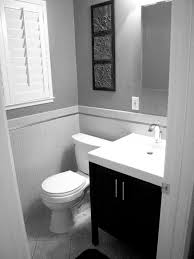 Grey And White Bathroom by Perfect Black And White Small Bathroom Designs Gallery Design