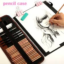 Make Up Artist Supplies Aliexpress Com Buy 29pcs Set Portable Outdoor Drawing Art