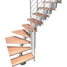 bausatz treppe bausatztreppe komoda l form 12 stufen buche hell inkl geländer in