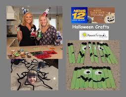 halloween crafts fall fun on news 12 momeefriendsli