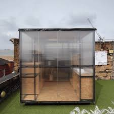 pop up house 5 e architect london architects create pop up art studio to highlight the city s