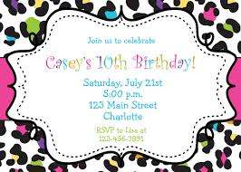 birthday invites chic girls birthday party invitations ideas