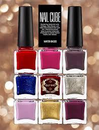 gumiho nail cube base u0026 top coat korean queens