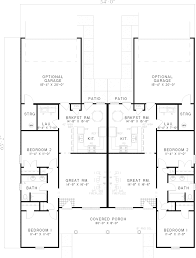 hanlon duplex home plan 055d 0364 house plans and more