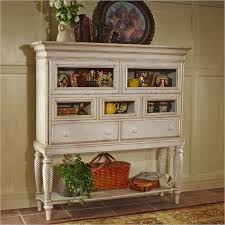 White Sideboard With Glass Doors Wilshire Sideboard Cabinet In Antique White Finish By Hillsdale