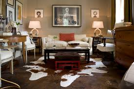 cowhide rug living room ideas decorating tips for living room with cowhide rug walls interiors on