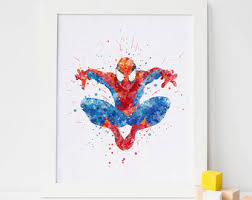 spiderman gifts etsy