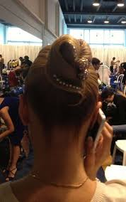 hair styles with rhinestones 182 best ballroom dance hair and jewellery images on pinterest