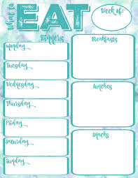 free printable planner templates pantry makeover free printable weekly meal planner and shopping free printable what to eat weekly meal planner at thehappyhousie com