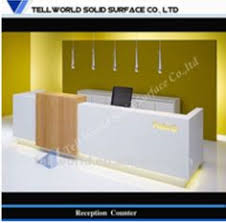 Rem Suflo Reception Desk Reception Desk In Corian Desks Pinterest Reception Desks