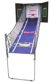 so classic sport x0604 indoor arcade hoops cabinet basketball game amazon com classic sport espn arcade hoops sports outdoors