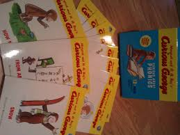 giveaway curious george book early childhood youth