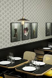wallpaper designs for dining room restaurant wallpaper that looks good enough to eat feathr