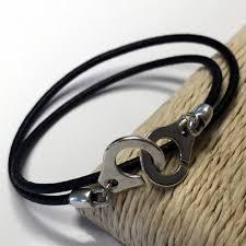 bracelet cuir homme images Bracelet cuir homme double tours menottes ligne d jpg