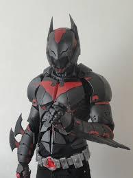 incredible real life batman beyond costume