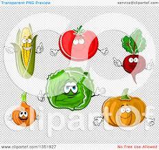 pumpkin no background clipart of cartoon corn tomato beet pumpkin cabbage and onion