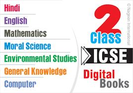 icse digital ebooks for class 2 u2013 all subjects of educators