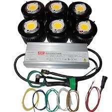 diy cree led grow light videos