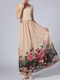 hem maxi dress