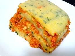 poivron cuisine polenta persillée a la crème poivron cajou recette de cuisine