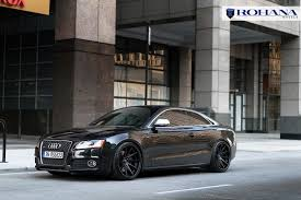 audi s8 matte black rohana rc10 all matte black on 2010 audi s5 wheels