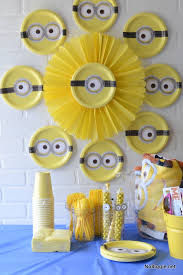 Birthday Decoration Ideas Minions Decoration Ideas for