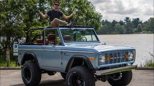 prerunner bronco dash heres why this 1974 ford bronco cost 200 000 youtube