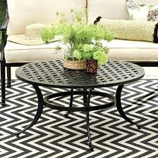 side table outdoor side table metal beautiful coffee patio round