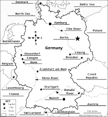 map of germany and surrounding countries with cities swing germany mr s wh semester ii