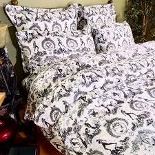 Queen Duvet Cover Pattern Unique Duvet Covers Designer Bedding By Sin In Linen