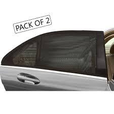tirol rear side window sun shades mesh uv protection car window