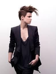 coupe cheveux homme dessus court cot coiffure court coté dessus femme femme cheveux mi longs sur